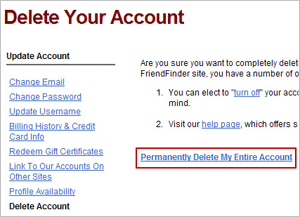 how to delete asian date account