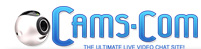 Cams.com: The ultimate live video chat site.