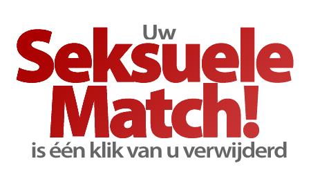 Uw Seksuele Match is slechts één klik van u verwijderd!